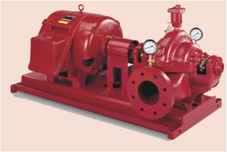 Horizontal Split Case Fire Pump