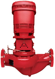 Vertical In Line Fire Pump