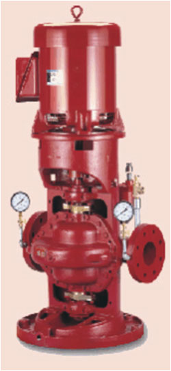 Vertical Split Fire Pump